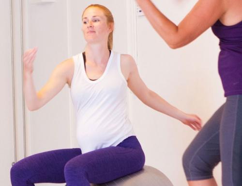Træning i starten af graviditeten